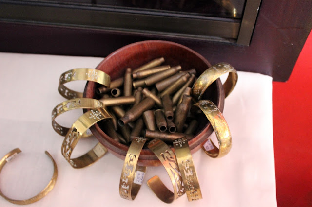 Brass Bangles from Sao Mao