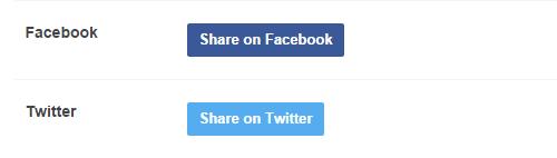 Cara  Menghubungkan Tumblr  ke Facebook dan Twitter