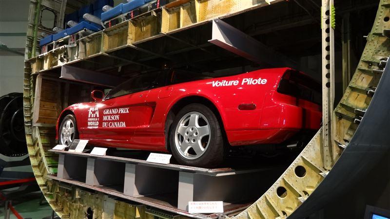 プロトタイプ ホンダ NSX, Honda, prototyp, SOHC, Museum of Aeronautical Sciences, Narita, JDM, Japonia, ciekawostki