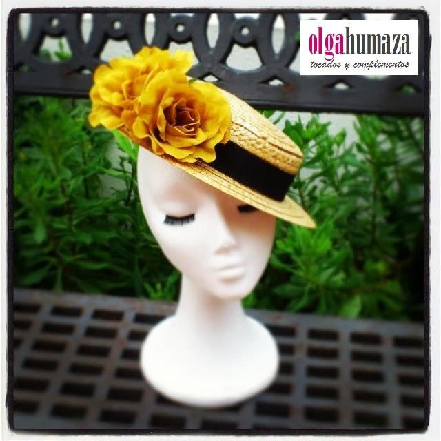 http://olgahumaza.blogspot.com.es/2014/02/b09-sombrero-mini-canotier-negro-y.html