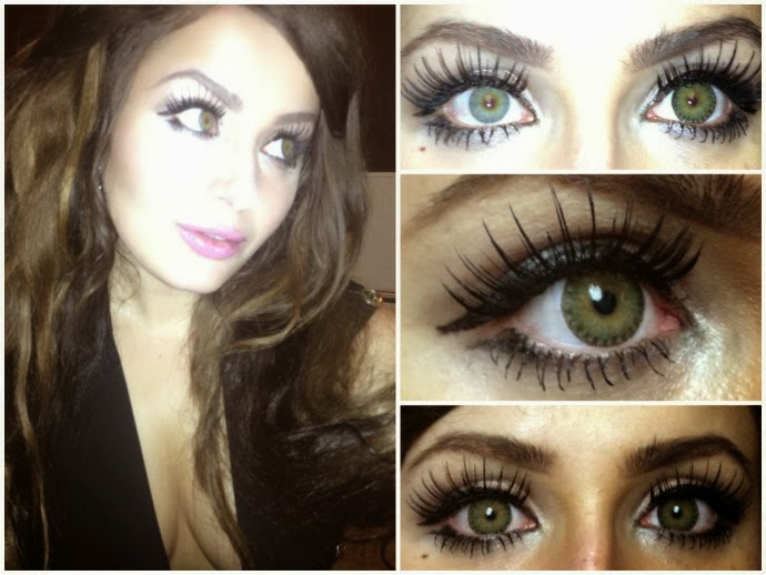 Beuberry Lurve 3 Tones Green colored contacts