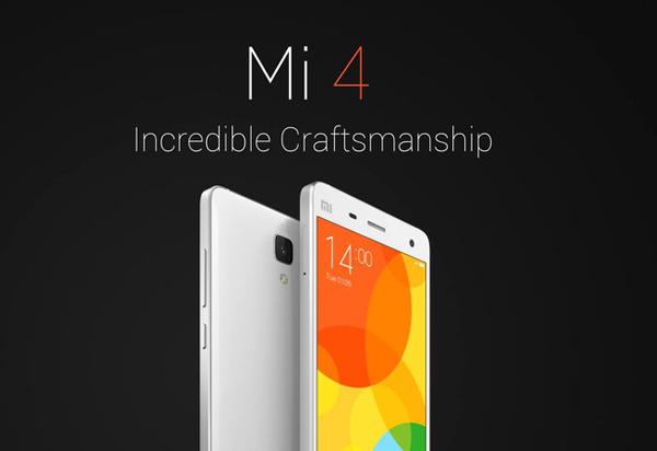 Xiaomi meluncurkan Mi 4 di India
