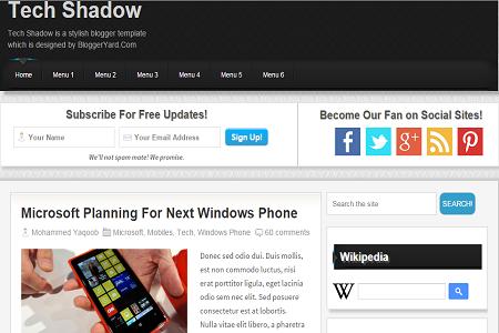 free seo optimized responsive blogger template