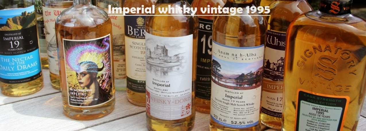 Imperial whisky vintage 1995