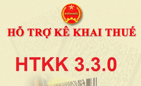 Phần mềm HTKK 3.3.0