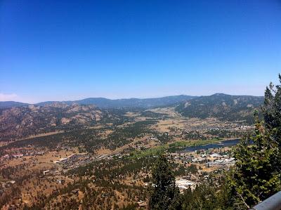 Aerial Tramway view in Estes Park, Colorado #Colorado #ColorfulColorado www.thebrighterwriter.blogspot.com