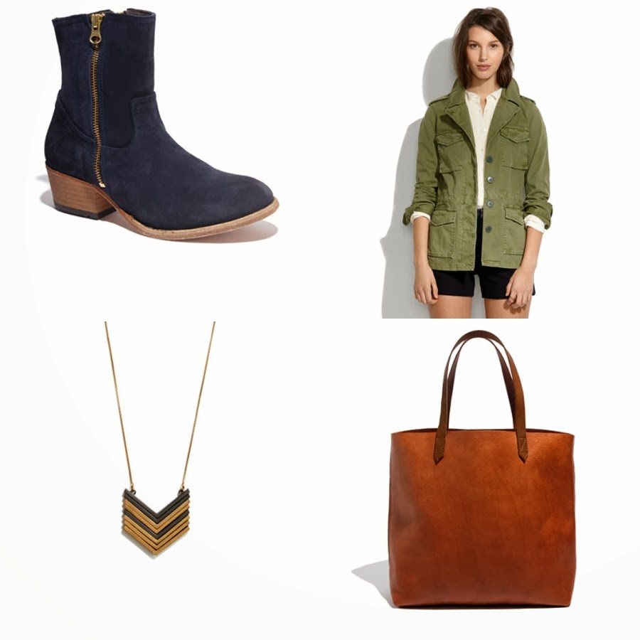 Blog mode, vetements fashion, fashion blog -Anna Naphtali for Madewell: Day Adventure Look - 0