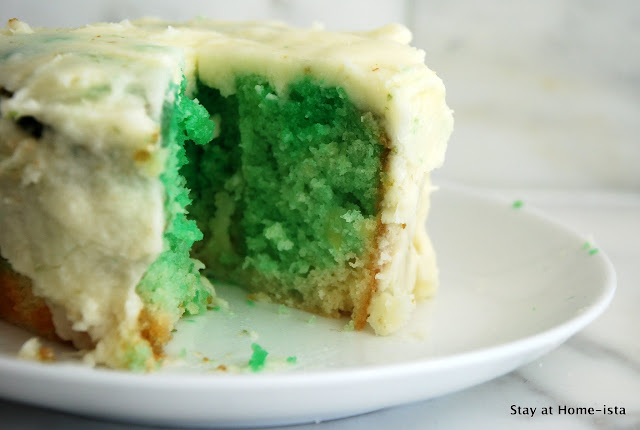 st patricks day green cake
