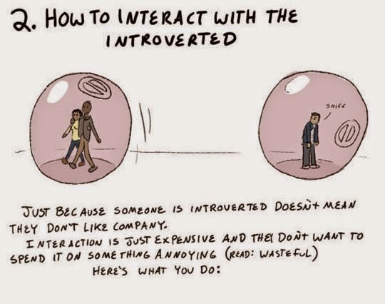 This Is How To Interact With The Introverted…
