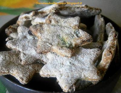 biscotti per cani pisellini e farina di farro