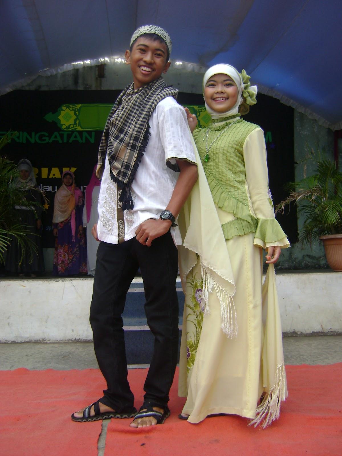fashion show muslim of MAN 2 Ciamis
