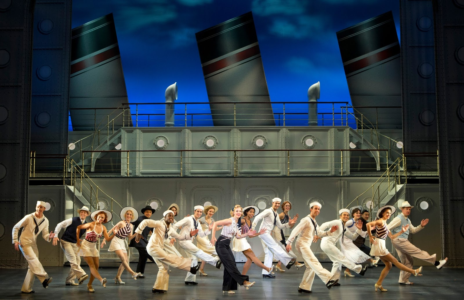 Anything Goes National Tour  Cast