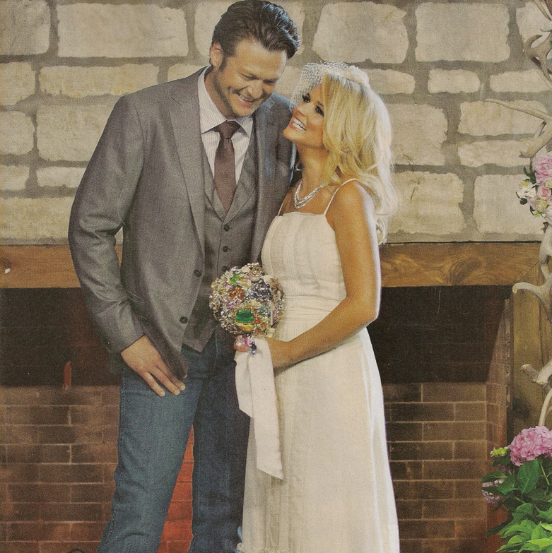 Blake And Miranda Wedding: White Ribbons Event Design And