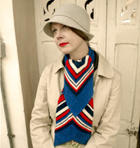 Free 1930's Knitting Pattern - Swagger Scarf