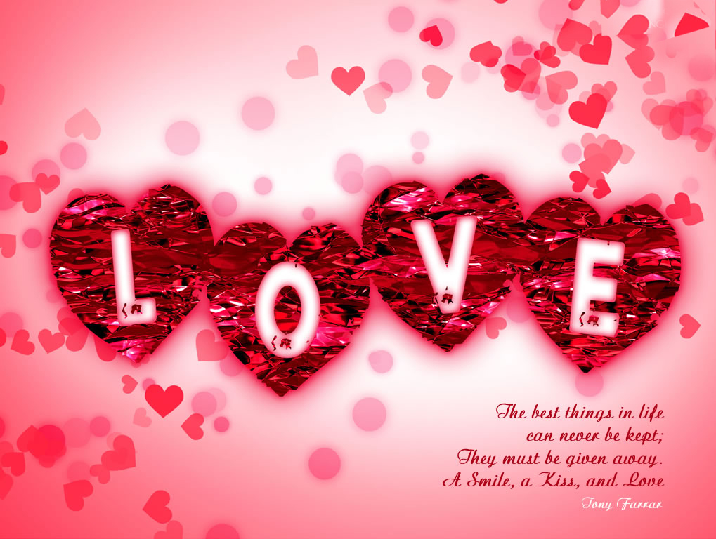 cute Love Wallpaper With Thought : Sweet Love Quotes Wallpapers