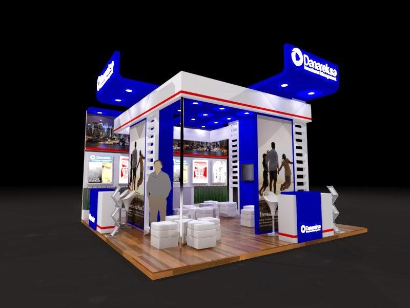 concept design danareksa booth  INexpo Design | Kontraktor Pameran
