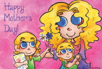 Happy Mother's Day from TheQuirkyConfessions.com ~ #SAHM Blogging with humor about parenting!