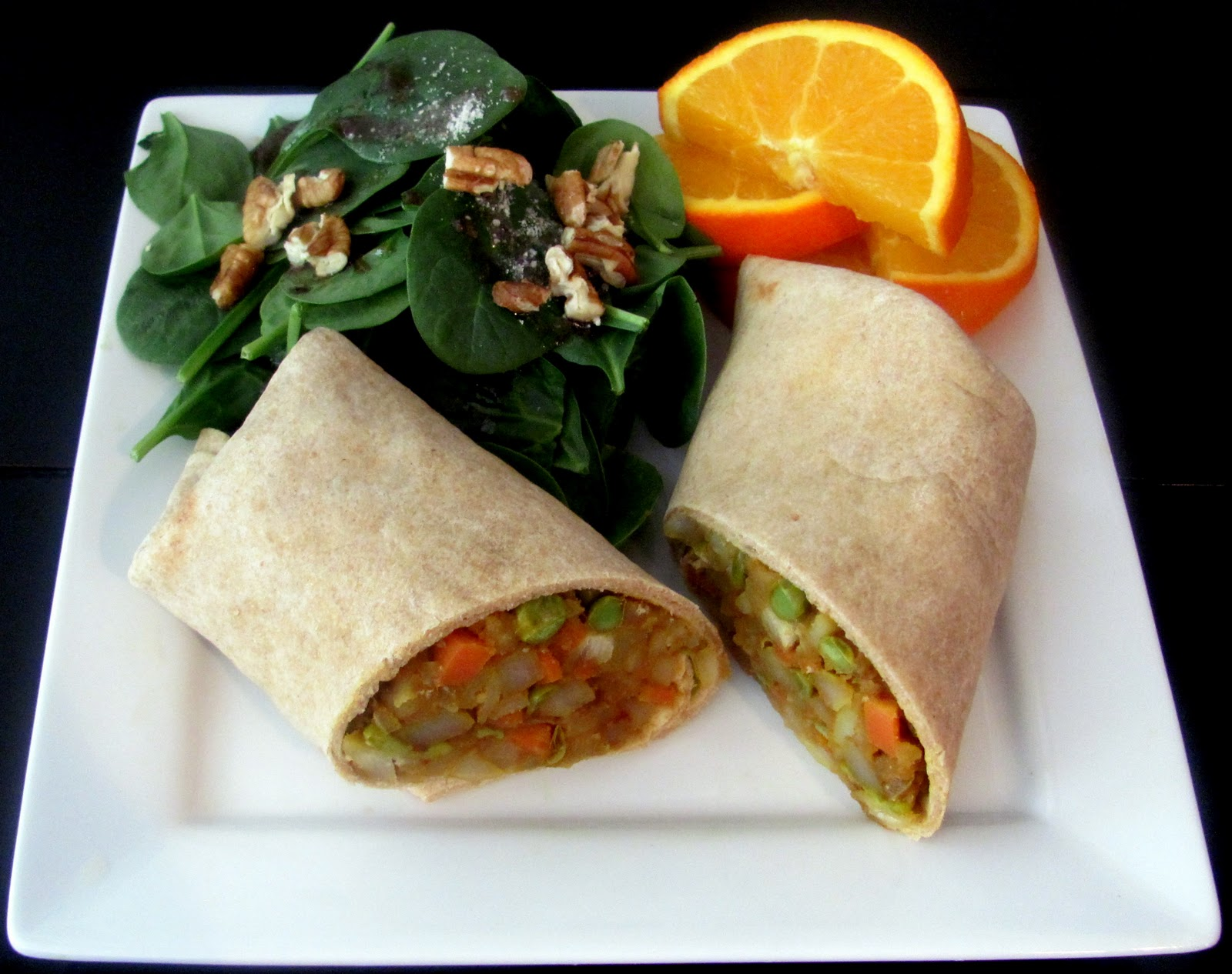 Indian Samosa Wrap