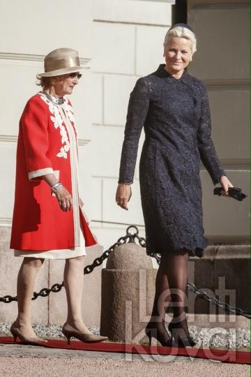 Royals & Fashion: Visite d'état du président d'Estonie à Oslo