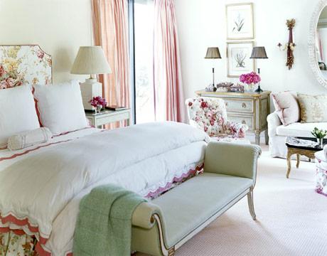 Sill n a los pies de la cama dormitorios con estilo - Sillon para habitacion ...