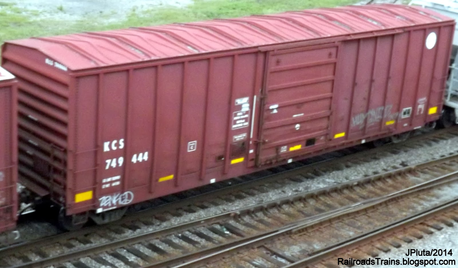 Clic Steam With Old Freight Box Cars At Train Museum Law California