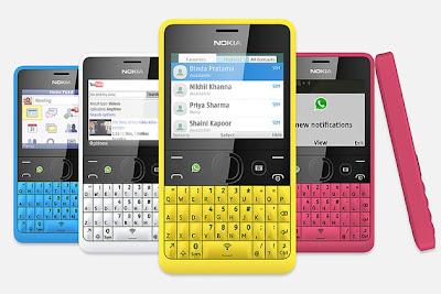 Nokia Asha 210, HP Murah Bisa WhatsApp dan LINE