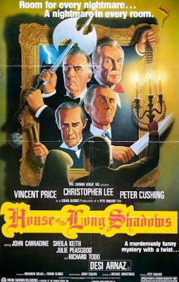 La casa de las sombras del pasado (House of the Long Shadows)(1983) movie poster pelicula