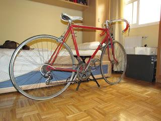 Restauración de una bicicleta de carretera