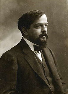 Retrato de Claude Debussy
