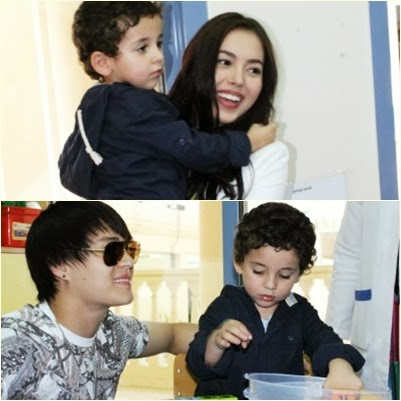 Julia Montes and Enrique Gil Lauded at Dubai Autism Center (DAC)