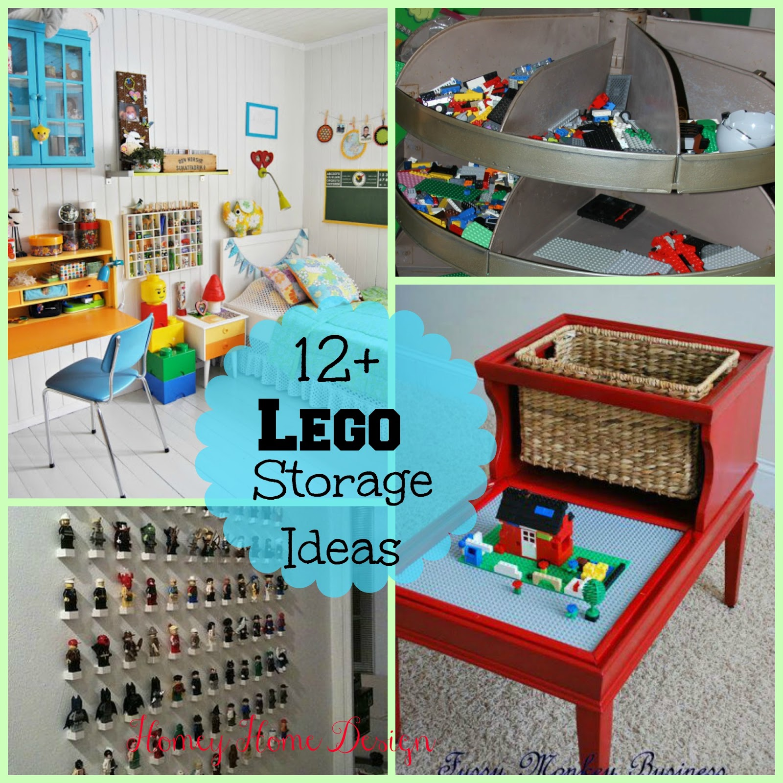 Charming Lego Storage Ideas