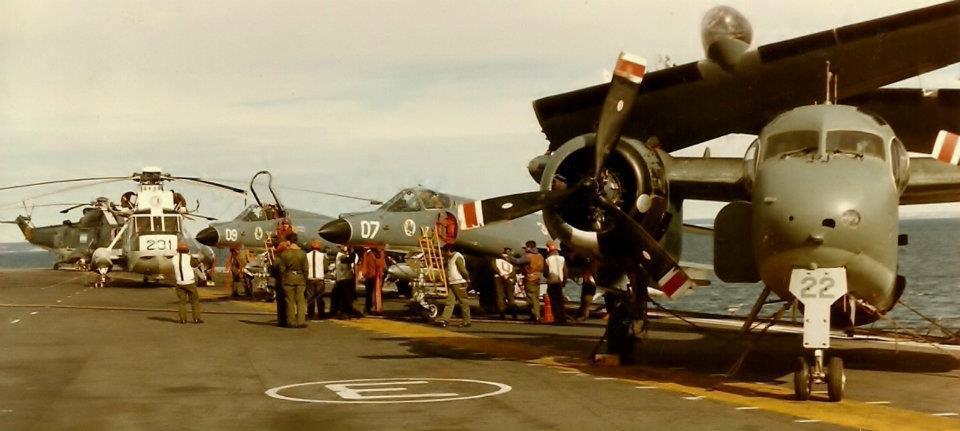 """Armada Argentina: Portaaviones """"25 de Mayo"""""""