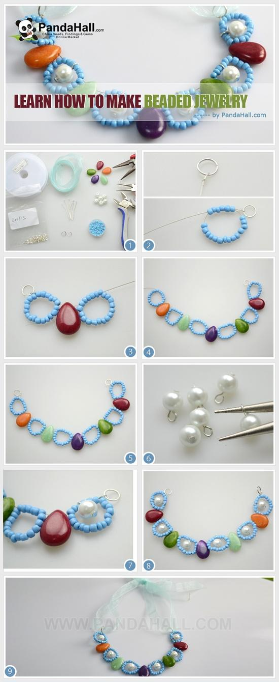 Make Beautiful Beaded Jewelry