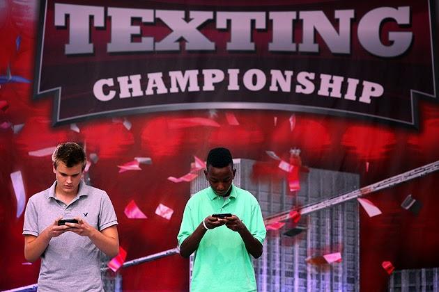 World Texting Championships - USA