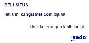 kangismet.com dilelang oleh SEDO