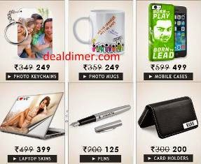 Customized Products Rs. 50 off