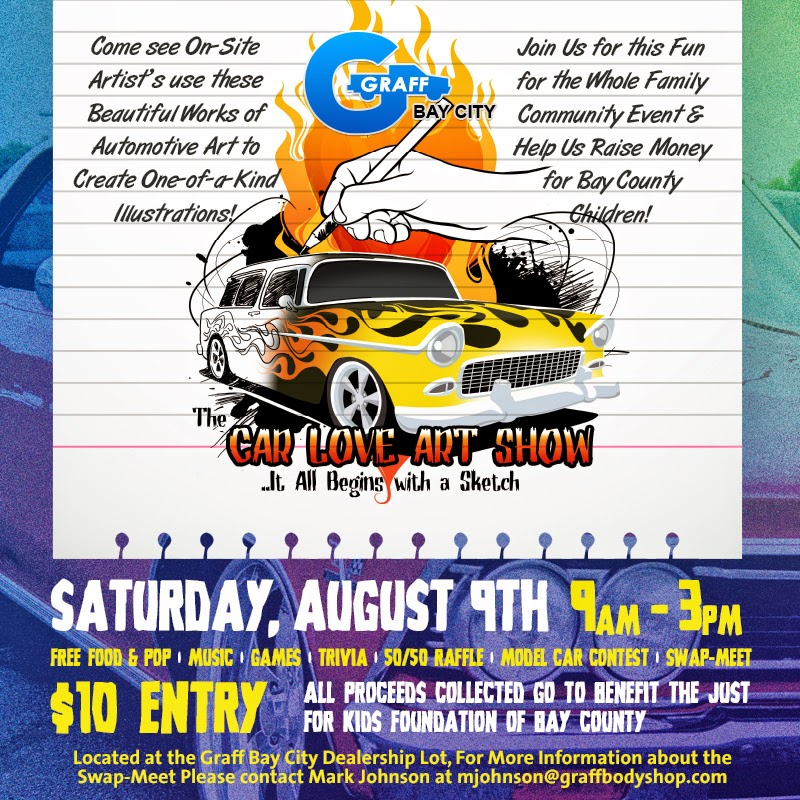 Car Love Art Show at Graff Bay City