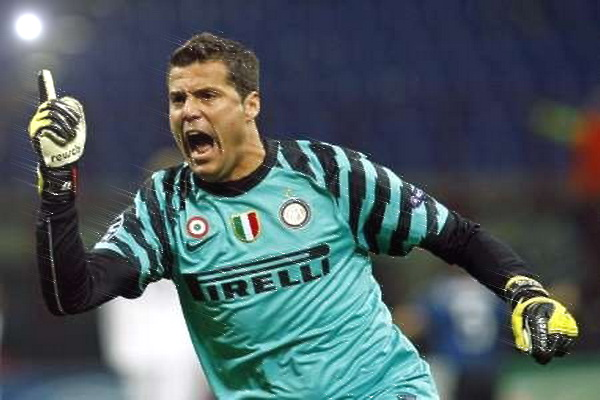 Julio Cesar could leave Inter, signed Handanovic ...