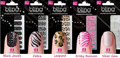 packets of nail bling