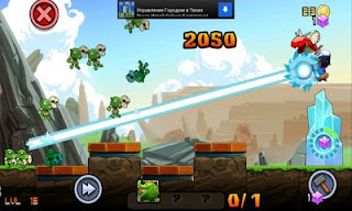 Screenshots of the Goblins Rush for Android tablet, phone.