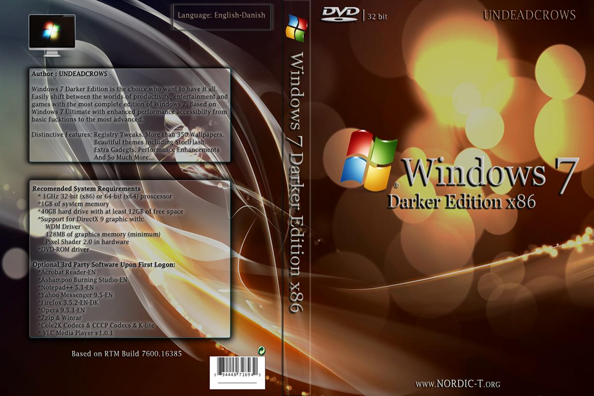 windows 7 dark edition 2015 x64bit download