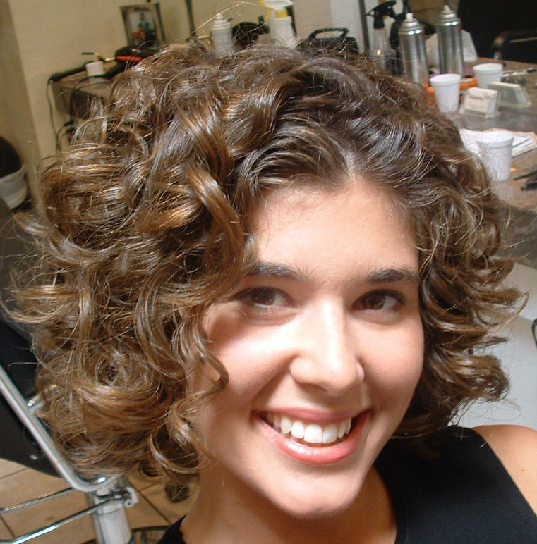 Short Curly Hairstyles 2013 - Medium Length Shaggy Bob Hairstyles ...