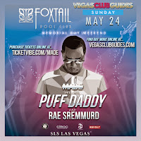 Diddy Day Party MDW 2015 Las Vegas