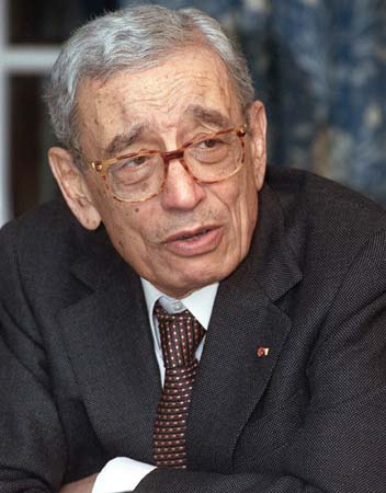 BOUTROS BOUTROS GHALI, DEAD AT 93.