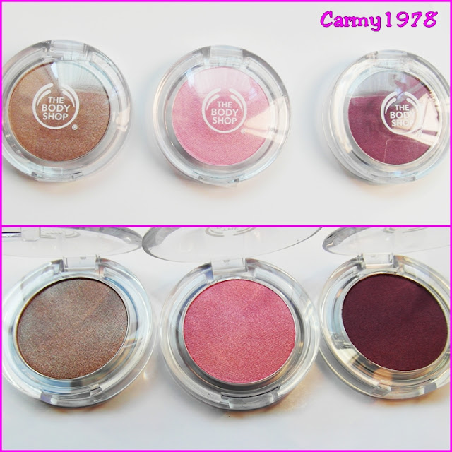 the body shop colour crush n. 205, 305, 320