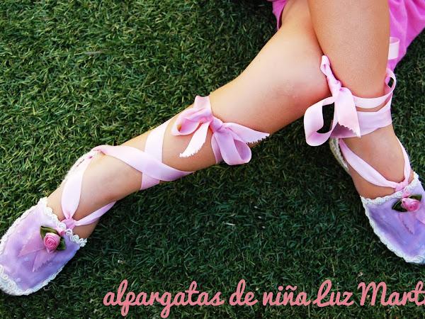 Alpargatas personalizadas para niñas Luz Martin