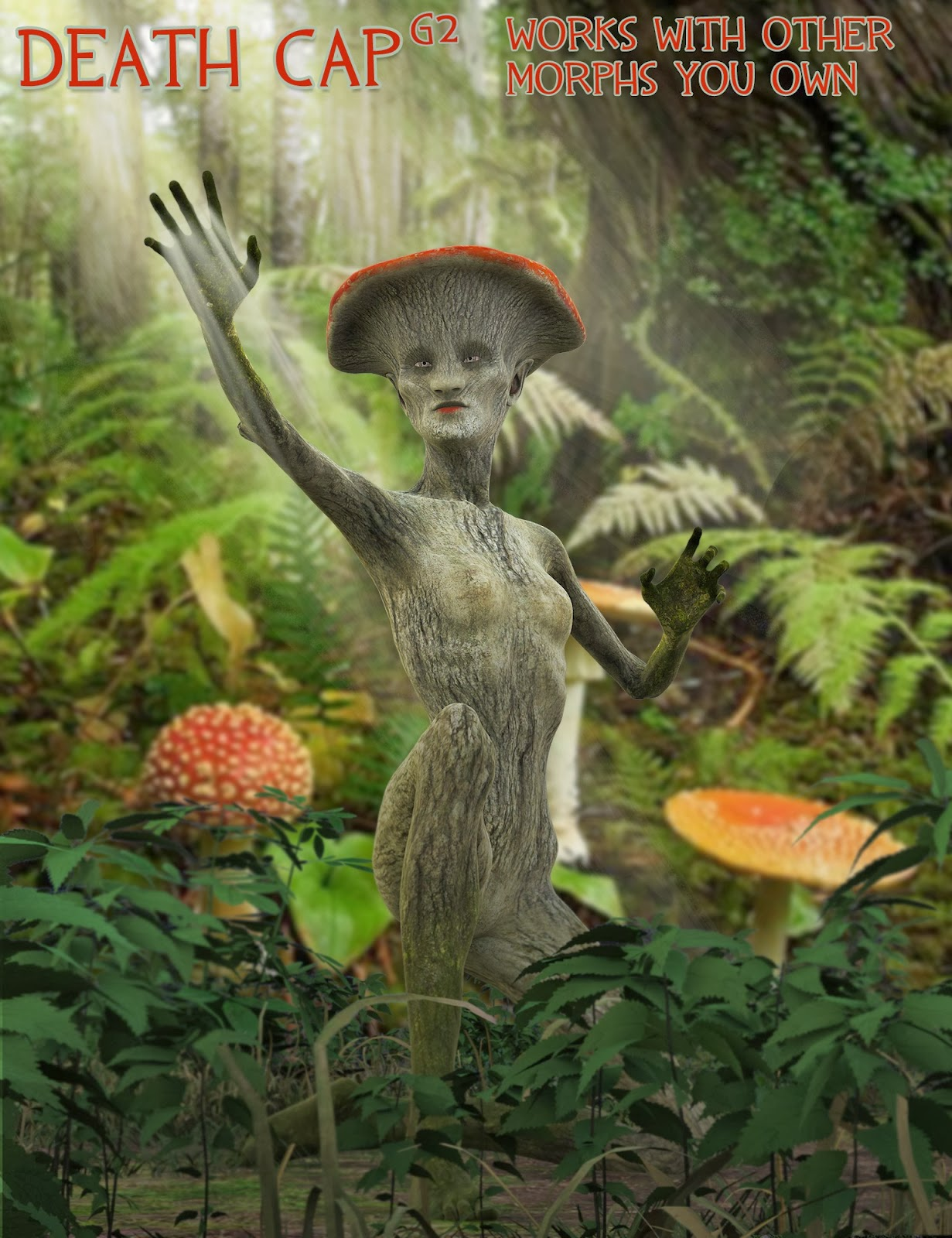 DAZ 3D - Death Cap HD