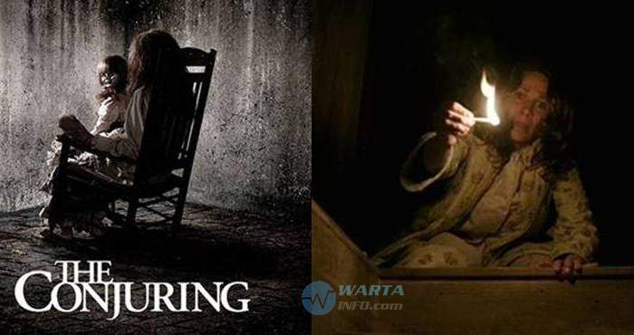 foto gambar poster The Conjuring film horor barat dari kisah nyata mengerikan