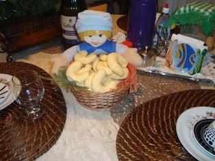Biscoito de Queijo com Araruta