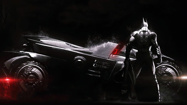 Batman and New Batmobile 2r
